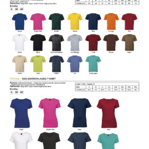 160g Barron Crew Neck T-Shirt